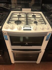 60CM WHITE ELECTROLUX ELECTRIC COOKER