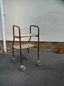 Kitchen trolley walker