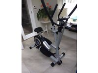 Roger Black 2 in one Cross trainer and exercise bike