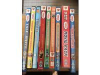 11 Thomas the tank engine DVDs