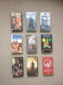 Job lot of over 60 VHS videos