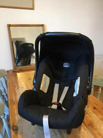 Britax Baby Safe car seat and accessories