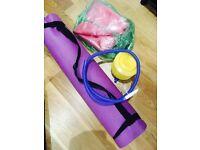FREE Yoga Mat & Ball with Pump