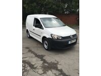2012 Volkswagen caddy c20 1.6tdi 75 1 owner from new