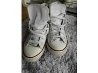 Converse size 3.5 white