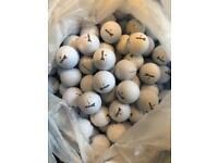 100 Srixon distance golf balls in pearl grade a mint condition £30 or 200 for £55