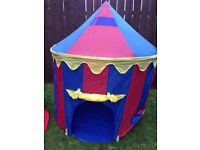 Circus Big Top Tent that folds down