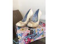 Irregular Choice wedding/bridal/party shoes