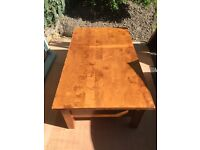 Large Coffee Table with Storage Drawers