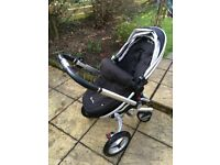 Silver Cross Surf 3 Pram and Pushchair with accessories