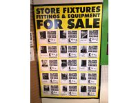 MAPLIN STORE - Fixtures and Fittings available to purchase......