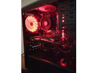Ryzen 5 1500X 3.8 Ghz Gaming Production PC, GTX 1060 , 8GB Ram SSD + 500GB HDD