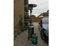Patio Gas Heater.