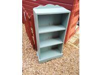 3 shelf bookcase shabby chic