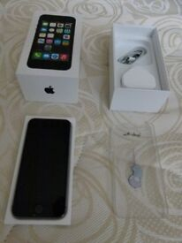 iPhone 5S, 16B in Space Grey, unlocked, mint condition