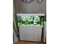 Juwel Rio 180 litre tank, stand & accessories