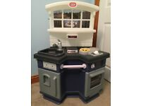 Little tikes kitchen with 100+ accessories