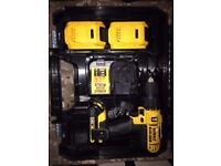 dewalt dcd776s2t drill with 3 battery's wolverhampton area