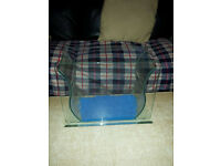 Custom 1FT fish tank - no offers. includes sponge filter