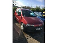 2001 LOW MILEAGE PUNTO 1.2 petrol years mot ideal first car