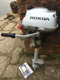Honda Outboard Engine 2.3hp.