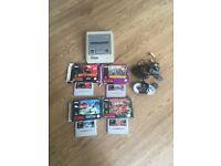 SUPER NINTENDO CONSOLE SNES WITH 4 BOXED RARE GAMES
