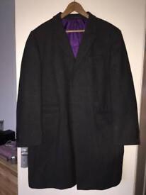 Jeff banks wool men's coat. Large. Worn a couple of times. Grey