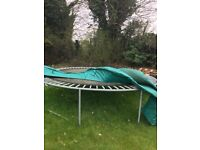 Old trampoline for free