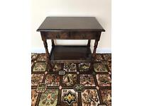 Vintage stained sideboard table