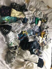 0-3 months boys bundle of clothes
