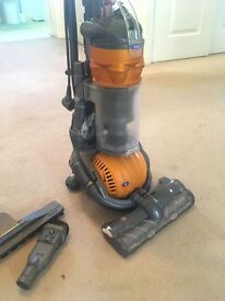 Dyson DC24 Multi Floor Ball Upright Hoover Vacuum Cleaner - with accessories