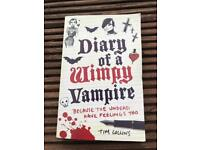 Diary of a wimpy vampire book