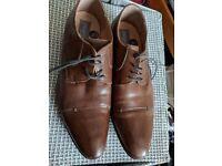 Filanto Italian brown shoes Size 9/43