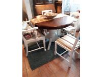 Antique Upcycled Extendable Dining Table & 6 Chairs £300 ONO