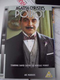 32 Agatha Christie's POIROT DVD's