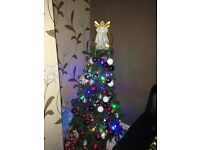 Green Christmas tree think 4ft or 5ft