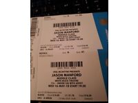 Jason manford tickets on 16th May