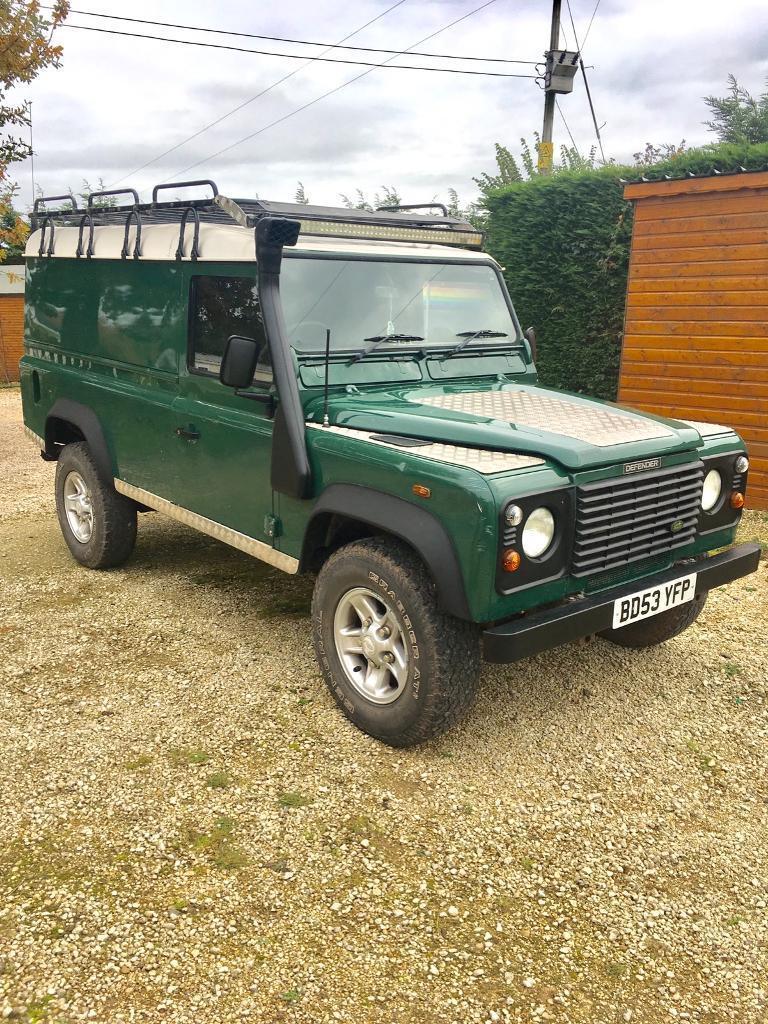 Land Rover defender 110 td5 hard top low miles for sale NO VAT !!!