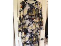 Topshop Palm Dress