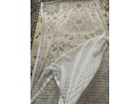 Very wide net Curtain