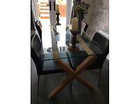 Habitat dining table & chair set