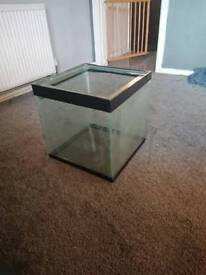 Two 16inch cube fish tank