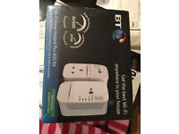 Brand New Sealed - BT Wi-Fi Home Hotspot Plus 600 Kit