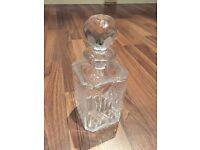 Vintage Scottish Edinburgh Crystal Whiskey Decanter
