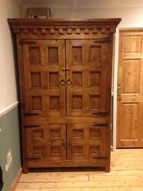 Solid wood cupboard/ TV cupboard
