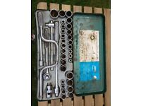 37 piece Socket Set, Imperial/Metric/Whitworth