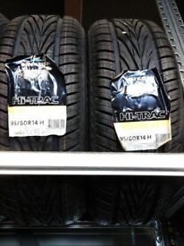 Pair of Brand New 195 60 R14 Vredestein Hi Trac tyres