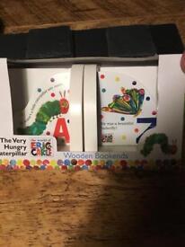Children's Wooden Bookends