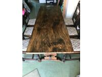 Solid Elm Table