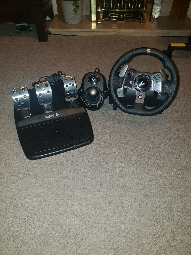 Logitech g920 driving force sterling wheel with pedal and shifter | in  Frome, Somerset | Gumtree